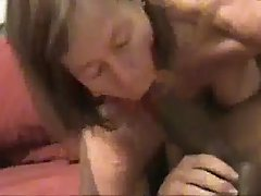Wife sucking a BBC