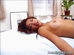 Amazingly hot Japanese babe getting part2