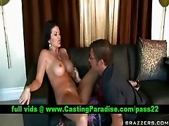 Raquel Devine horny busty mom licked and blowjobs