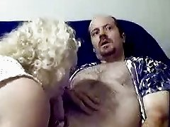 Exciting blowjob from a nasty blonde