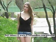 Tania fun stunning girl masturbating