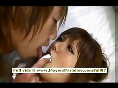 Yume Asak naughty asian teen gets her wet pussy fucked