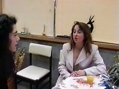 French mature hairy housewife &amp;amp; girl friend
