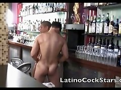 Wild Hunky muscle latino twinks in action