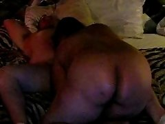 BBW Ass blowjob at the hotel.